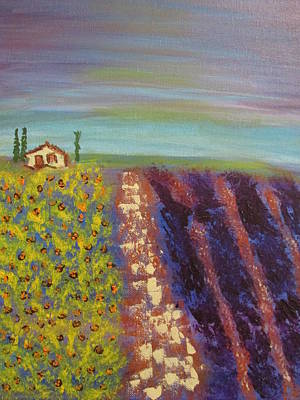 Painting - Peaceful Tuscany by Sharyn Winters