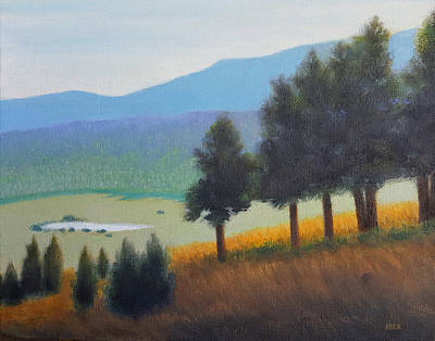 Painting - Peaceful Valley by Gordon Beck