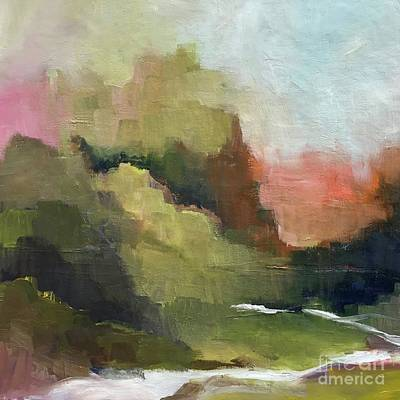 Painting - Peaceful Valley by Michelle Abrams