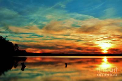 Photograph - Peaceful Vibrance by Kelly Nowak