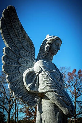 Photograph - Peaceful Walker Umc Angel Art by Reid Callaway