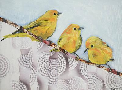 Peaceful Warblers Original