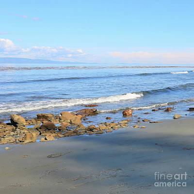 Photograph - Peaceful Washington Beach by Carol Groenen