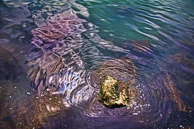 Photograph - Peaceful Water1 by John Hansen