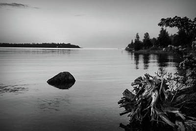 Photograph - Peaceful Waters At Crystal Point, Lake Huron Mi by Kelly Hazel