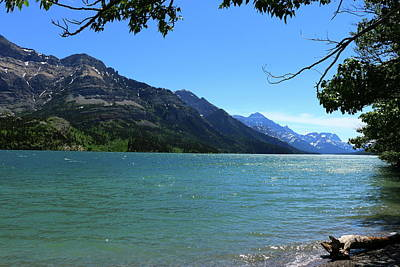 Photograph - Peaceful Waterton Lakes View by Christiane Schulze Art And Photography