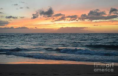 Photograph - Peaceful Waves by Michelle Welles