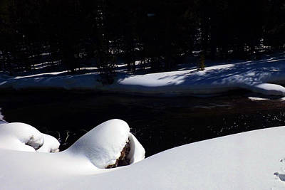 Photograph - Peaceful Winter Scene by C Sitton