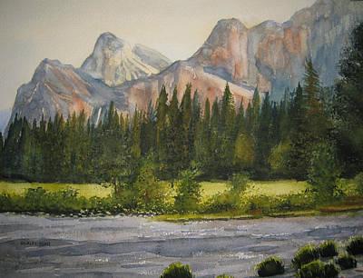 Peaceful Yosemite Art Print by Shirley Braithwaite Hunt