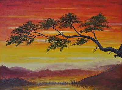 Peacefulness Art Print by Georgeta  Blanaru
