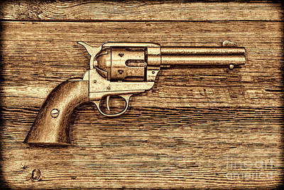 Peacemaker Art Print by American West Legend By Olivier Le Queinec