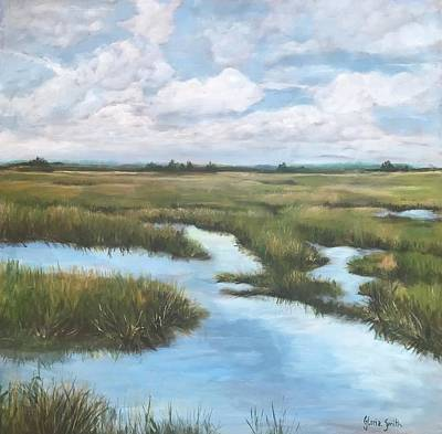 Painting - Peaceful by Gloria Smith