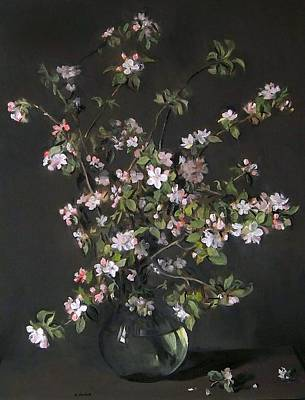 Painting - Peach Blossom Crossing by Robert Holden