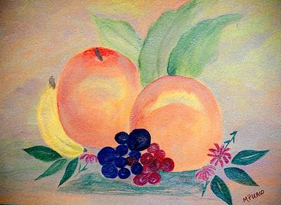 Painting - Peach Delight by Maria Urso