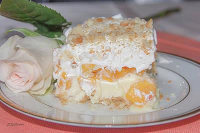 Peach Photograph - Peach Dream Dessert  by Pamela Williams
