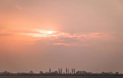 Photograph - Peach Melba Sunrise by David Warrington