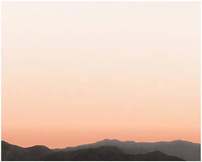 Painting - Peach San Jacintos by Stan  Magnan