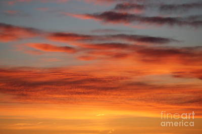Photograph - Peach Sunrise by Donna Munro