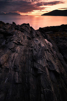 Colorful Photograph - Peach by Tor-Ivar Naess
