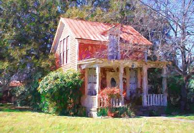 Photograph - Peach Tree Bed And Breakfast2 by Susan Crossman Buscho