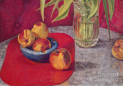 Pastel - Peaches And Nectarines by Kathryn Donatelli