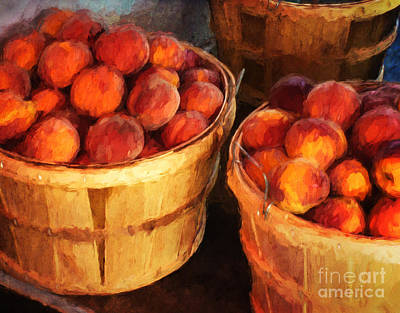Photograph - Peaches By The Bushel  by Clare VanderVeen