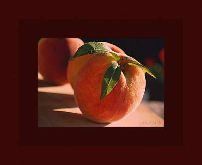 Photograph - Peaches by Marija Djedovic