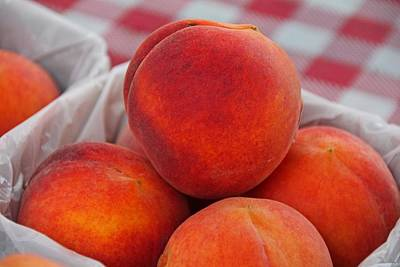 Photograph - Peaches by Michiale Schneider