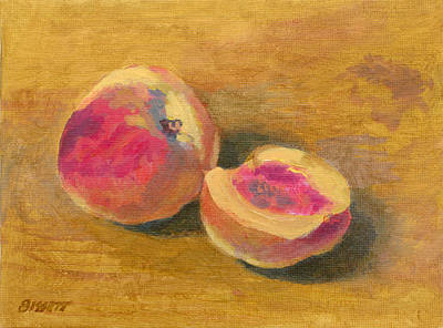 Peaches Original by Robert Bissett