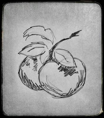 Peaches Art Print by Ryan Adams