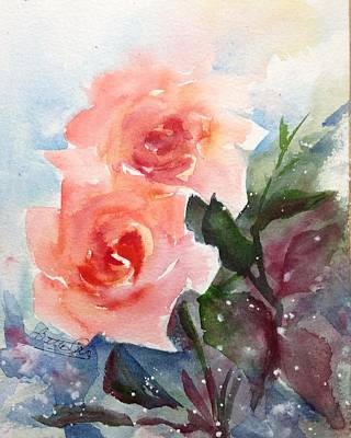 Painting - Peachy by Bette Orr