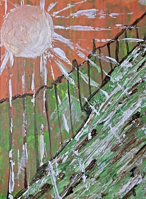 Painting - Peachy Day by April Burton
