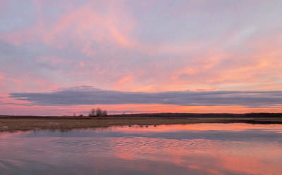 Photograph - Peachy Pink Sunset At Boy Lake #4 by Patti Deters