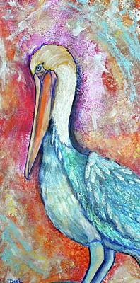 Painting - Peacock Envy by Debi Starr
