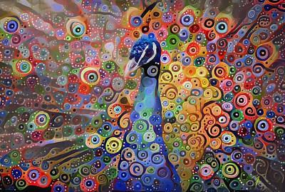 Digital Art - Peacock Forte by Yury Malkov