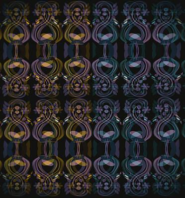 Digital Art - Peacock Pattern by Amar Singha