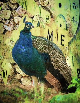 Photograph - Peacock Time by Sandra Schiffner