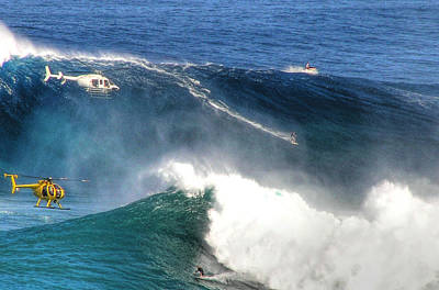 Peahi Maui Original by Dustin K Ryan