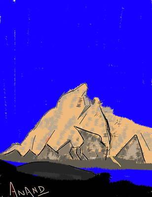 Digital Art - Peak-6 by Anand Swaroop Manchiraju
