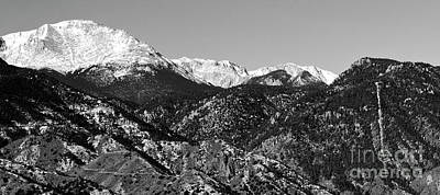 Photograph - Peak And Incline 36 By 16 by Steve Krull