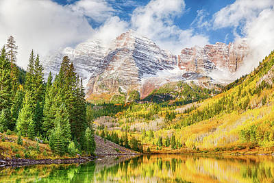 Photograph - Peak Colors by Eric Glaser