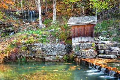 Photograph - Peak Of Autumn - Dogwood Canyon Missouri by Gregory Ballos
