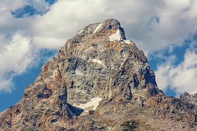 Photograph - Peak Of The Grand Teton by John M Bailey