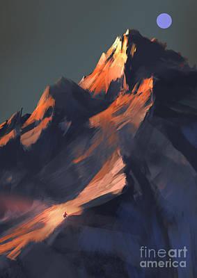 Painting - Peak by Tithi Luadthong