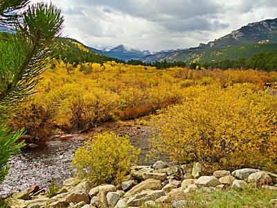 Ps I Love You - Peak to Peak Highway Dressed in Fall by Robert Meyers-Lussier