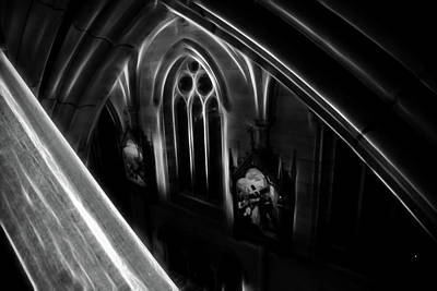 Photograph - Peaking Down The Cathedral by Miroslava Jurcik