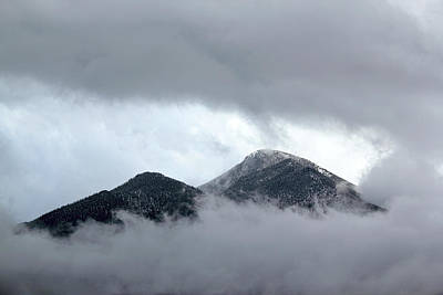 Photograph - Peaking Through The Clouds by Shane Bechler