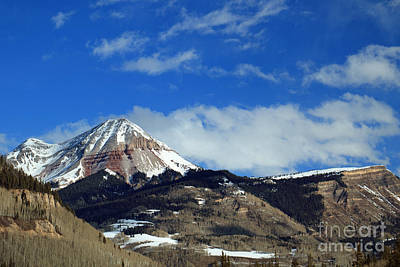 Photograph - Peaks And Plateaus by Mary Haber