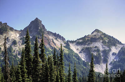 Photograph - Peaks by Chris Anderson
