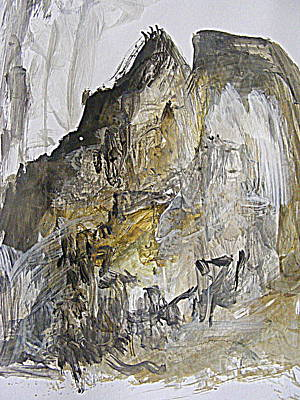 Painting - Peaks For Climbing by Nancy Kane Chapman